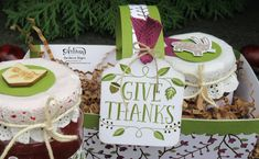 Demonstrator in Vienna Stampinup, Give Thanks, Creative Studio, Vienna, Blog, Place Cards, Place Card Holders, Holiday, Book Folding