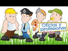 Aprende las profesiones - Reportero - YouTube