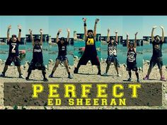 Perfect - Ed Sheeran Zumba Workouts, Ed Sheeran, Workout Videos, All Star, Soccer, Stars, Fitness, Youtube, Movie Posters