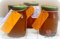 Domácí meduňkový sirup
