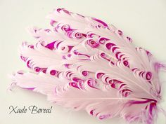 1 Nagorie Curled Feather Pad pink  over by XadeBorealSupplies, $3.50