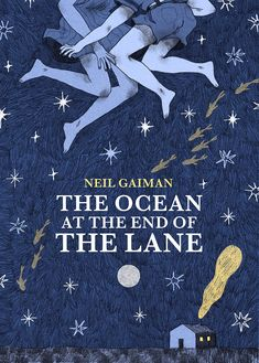 The ocean at the end of the lane – novel ; design by Nuria Tamarit