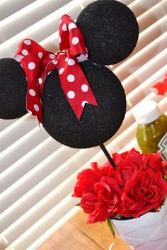 """Photo 5 of 35: Minnie Mouse / Birthday """"Evey's 2nd Birthday """"   Catch My Party"""