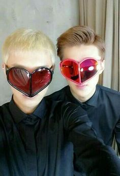 tao & sehun heart eyes.