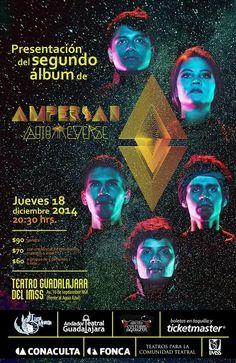 Este 18 de diciembre Ampersan presenta su segundo disco AUTORREVERSE en Guadalajara.