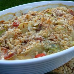 Ham And Cabbage, Cabbage Recipes, Ham Recipes, Side Recipes, Cheese Recipes, Dinner Recipes, Cooking Recipes, Healthy Recipes, Diabetic Recipes