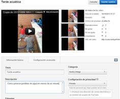 Convierte un vídeo en privado