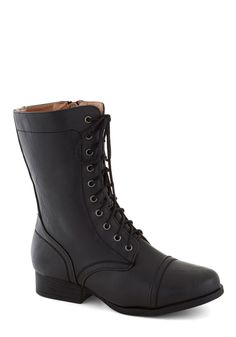Barn Brunch Boot in Black   Mod Retro Vintage Boots   ModCloth.com