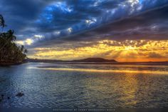 Sunset by the Beach by Sunny Bhanushali on 500px