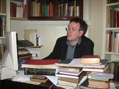 Bookseller Peter Ellis, interviewee