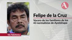 Peña Nieto miente sobre caso Ayotzinapa: Felipe de la Cruz