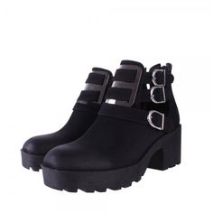 BEBO Ankle Boots | Cut Out Ankle Boots |Ladies Cut Out Boots