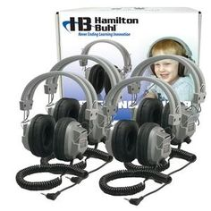 SC-7V Deluxe Headphones with Volume Control Lab Packs at SCHOOLSin