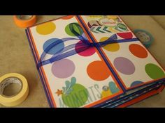 Tutorial Mini Álbum + Scrapbook - YouTube
