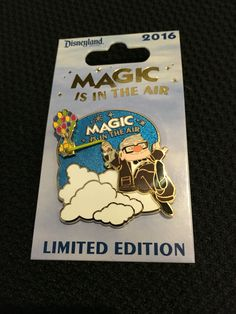 Magic is in the Air - Up pin