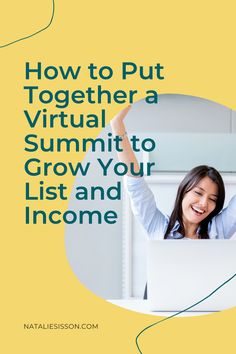 Do you want to explore a new revenue model, grow your list and establish yourself as a thought leader? Have you ever thought about running a virtual summit? I've wanted to run one for years. I know how much work they can be, so I knew exactly what I wanted mine to look like - no stress. Major fun. Growth. Value. This week on the UNTAPPED podcast I take you behind the scenes of how I ran my first ever Virtual Summit and the full breakdown of results. Tune in at natalisisson.com/121