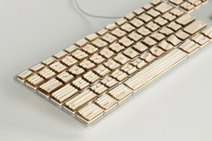 Engrain wooden tactile keyboard - I so hope this becomes gorgeous reality!
