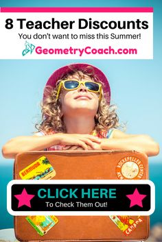 Before you plan your next vacation be sure to look into some of these crazy teacher discounts! NEVER leave for vacation without you School ID. Teacher Organization, Teacher Hacks, Math Teacher, Organized Teacher, Math Lesson Plans, Math Lessons, School Id, Middle School, High School
