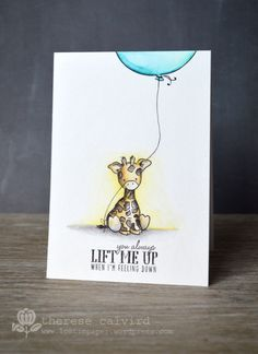 Lotingpaper - WPlus9 Party Animal - Lift me Up card (video)