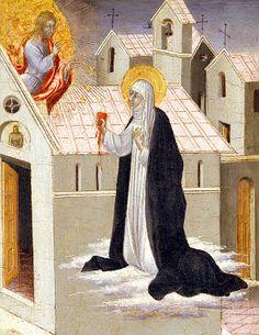Santa Catalina de Siena - El Perú necesita de Fátima