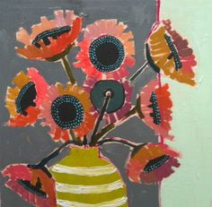 Solutions To Show That Pest Command Products And Services Are Useful For That Individuals Lulie Wallace Sunflowers Painting Inspiration, Art Inspo, Collages, Motif Floral, Floral Prints, Still Life Art, Renaissance Art, Abstract Flowers, Flower Art
