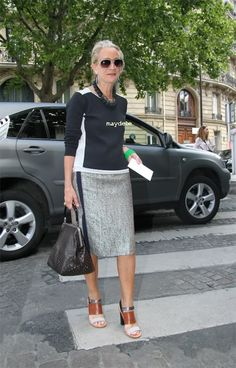 Lucinda Chambers in Marni. Personal style what is it? REad more: http://www.aboutawomanaboutagirl.com/what-is-personal-style-and-do-you-have-it/