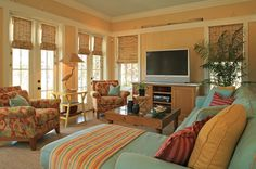 the WaterColor, Florida home by Georgia Carlee of GCI Design - House of Turquoise