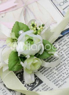 corsage for bride