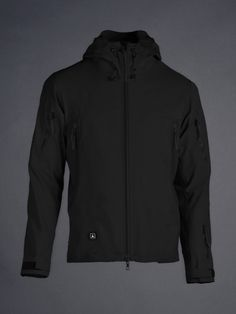 TAD - Stealth Hoodie LT  The finest waterproof soft-shell at any price.  Ours has gotten us through two #SurvivalTrial competitions and numerous GORUCKs and still looks brand new.  Buy once cry once.