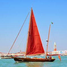 """Travel+Leisure says, """"Guess Where?"""" Uh...Venice, duh. Also, nice sail :)"""
