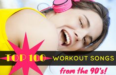 Ready for another blast from the past? Here's a list of all the songs that should be on your workout playlist today. Your votes decided the top 15 tunes of the decade! Best Workout Songs, 100 Workout, One Song Workouts, Workout Music, Fun Workouts, Exercise Music, Workout Plans, 90 Songs, Best Songs