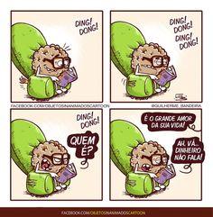 Objetos InAnimados. Guilherme Bandeira. Facebook, 23-02-2017. Funny Memes, Hilarious, Jokes, Heart Vs Mind, Portuguese Quotes, Life Comics, Sad Wallpaper, Sad Stories, Faith Hope Love