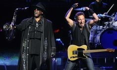 "Saxophonist Clarence Clemons, an indispensable part of Bruce Springsteen's E Street Band both for his full-throttle tenor sax work and his larger-than-life onstage persona as ""the Big Man,"" died Sa…"