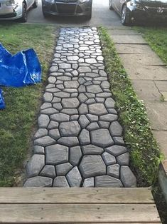 Home Landscaping, Landscaping With Rocks, Front Yard Landscaping, Inexpensive Landscaping, Florida Landscaping, Landscaping Edging, Landscaping Supplies, Backyard Patio Designs, Backyard Projects