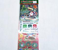 Brown Santa Sticker Embellishments on sale for R47.50  | Paradise Creative Crafts cc