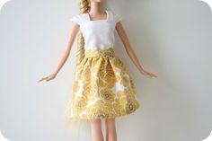 Couture : Vêtements pour Barbie - Le Blog des Dames