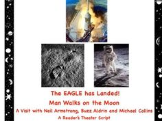 Moon Landing: Man Walks on the Moon! A Reader& Theater Script Moon Landing: Man Walks on the Moon! A Readers Theater Script Science Resources, Science Lessons, Apollo 11 Mission, Teacher Page, Primary Science, Moon Missions, Michael Collins, Buzz Aldrin, Readers Theater