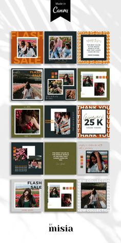 Instagram Feed Layout, Feeds Instagram, Instagram Grid, Instagram Post Template, Instagram Design, Instagram Story Ideas, Instagram Posts, Graphic Design Trends, Web Design