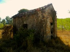 Desolated house, Italy