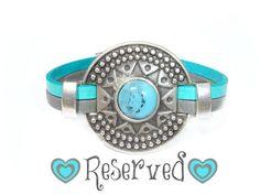 Beautiful Women Leather Bracelet // Etnic Collection by ScrapCati, €14.00