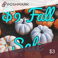 Closet Clean Out!!!! $5 Fall Sale - look for the pumpkin 🎃 Other