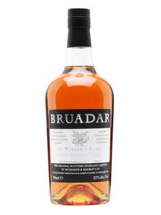 Bruadar is a liqueur (formerly known as Scottish Highland) made with malt whisky, honey and sloe berries.  Not too sticky.