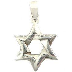 Star of David - Sterling Silver Pendant