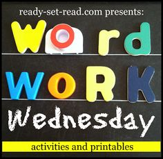 Word Work Wednesday on Ready-Set-Read with a Halloween twist! Check out this fun oral language game for Word Work Activities, Spelling Activities, Reading Activities, Literacy Activities, Teaching Reading, Teaching Tools, Literacy Stations, Always Learning, Kids Learning