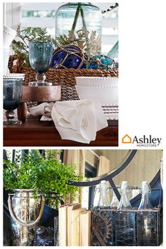 Home Decor are the details that bring your room to life. From sculptures to baskets, bowls and trays, these items add beauty to your home, regardless of your style. See everything you need to style your home with today, at AshleyFurnitureHomestore.com.