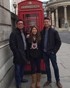 Obligatory London phone booth pic #asiantourists by dylanpark15