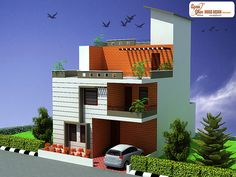 4 bedroom, modern triplex (3 floor) house design. Area: 135 sq mts (9m X 15m). Click on this link (http://apnaghar.co.in/login.aspx?ReturnUrl=%2fmember%2fshow-design.aspx%3fhdid%3d244&hdid=244) to view free floor plans (naksha) and other specifications for this design. You may be asked to signup and login. Website: www.apnaghar.co.in, Toll-Free No.- 1800-102-9440, Email: support@apnaghar.co.in