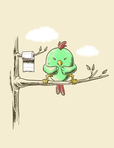 New Most Funny Cartoon Photos Of All Time Part 3 ✔ Funny Cartoon Make Your Laugh Funny Cartoon Photos, Funny Cute, Hilarious, Funny Birds, Funny Illustration, Humor Grafico, Cute Drawings, Cute Art, Cute Pictures