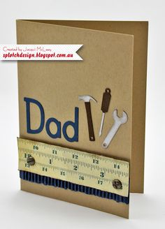 Simple Fathers Day Card