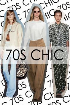 70s Chic - Trend Round Up: Spring/Summer 2015 Fashion